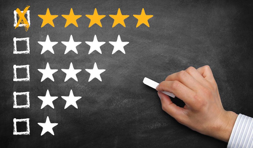 Bewertung 5 Sterne